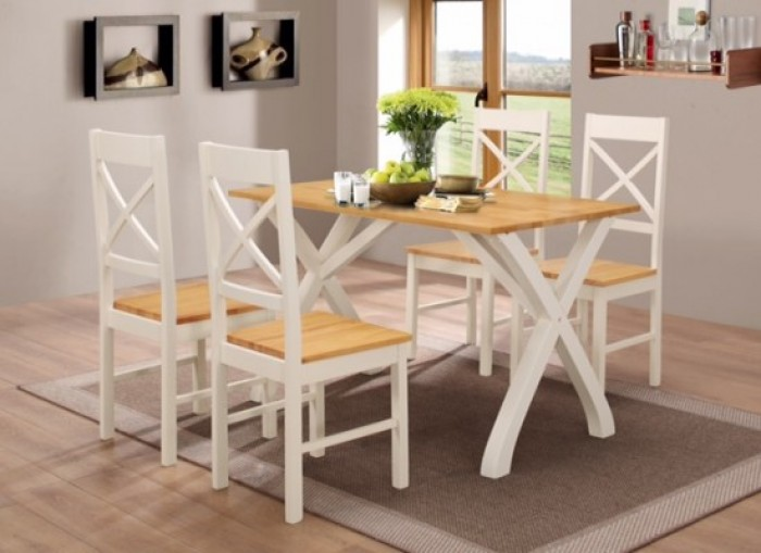 Stupendous Normandy Dining Table 4 Chairs Set Free Delivery Squirreltailoven Fun Painted Chair Ideas Images Squirreltailovenorg